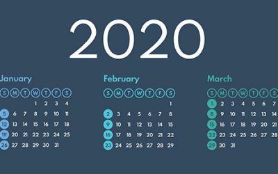 2020 Q1 tax calendar: Key deadlines for businesses and other employers